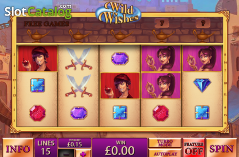 Screen12. Wild Wishes (Video Slot from Playtech)