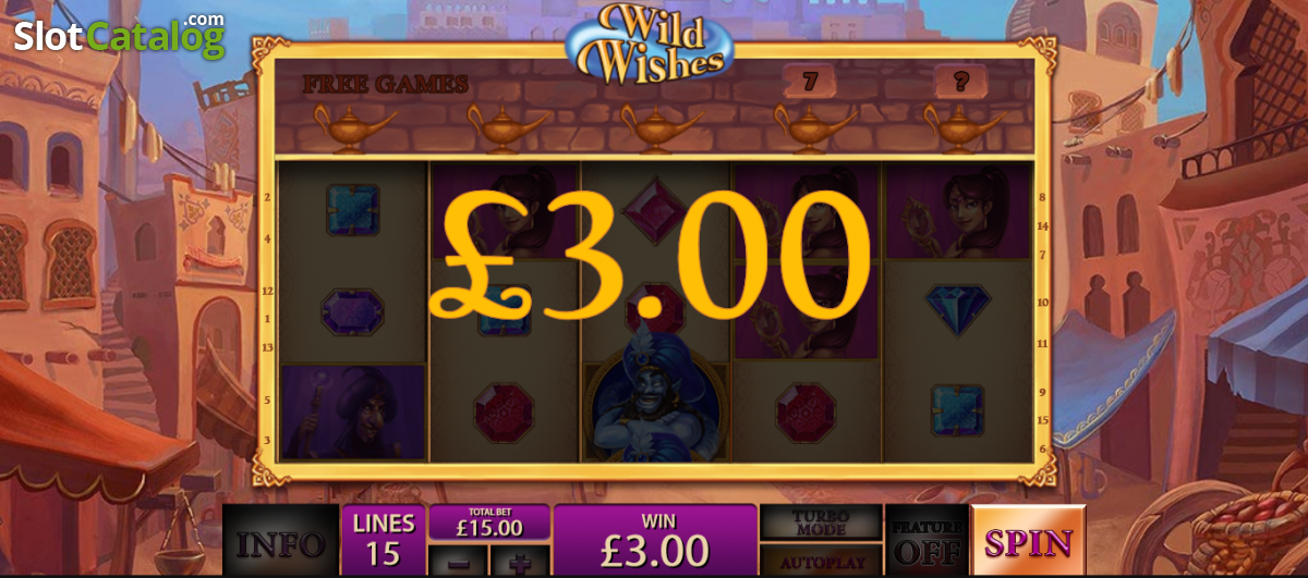 Play Wild Wishes Slots at Casino.com UK