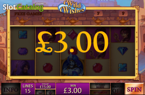Screen13. Wild Wishes (Video Slot from Playtech)