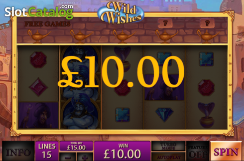 Screen14. Wild Wishes (Video Slot from Playtech)