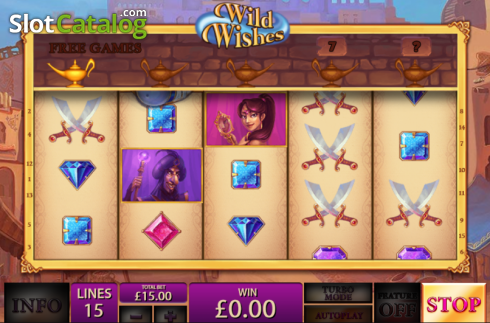 Screen15. Wild Wishes (Video Slot from Playtech)