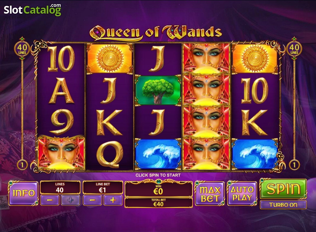 Play Queen of Wands Online Slots at Casino.com NZ