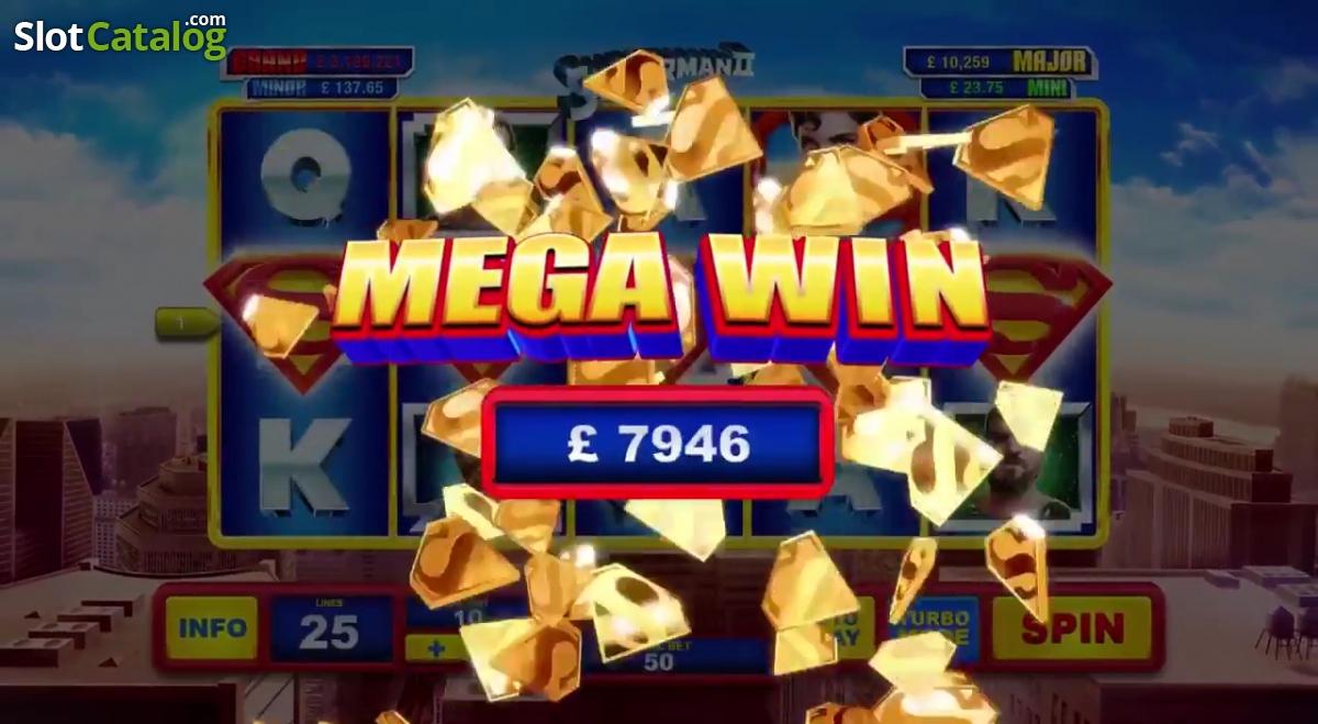 Play Superman II Slot Online at Casino.com UK