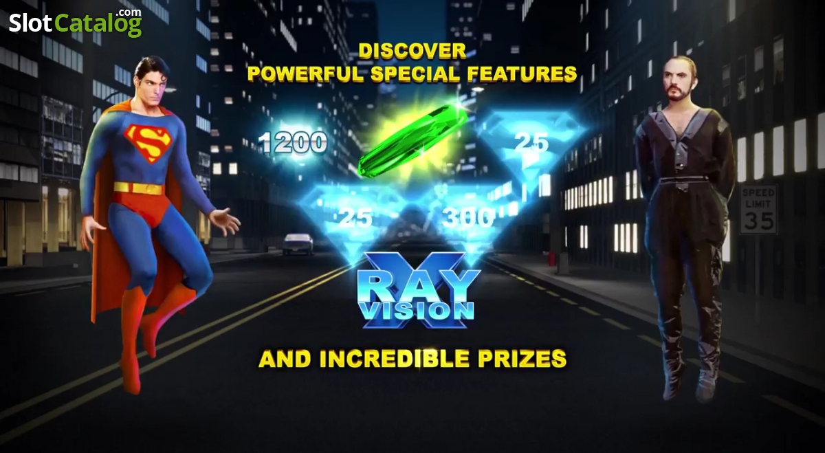 Play Superman II Slot Online at Casino.com UK