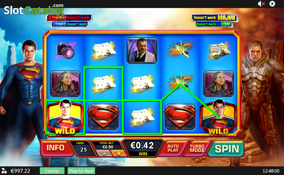 Man of Steel Slot - Play the Playtech Casino Game for Free