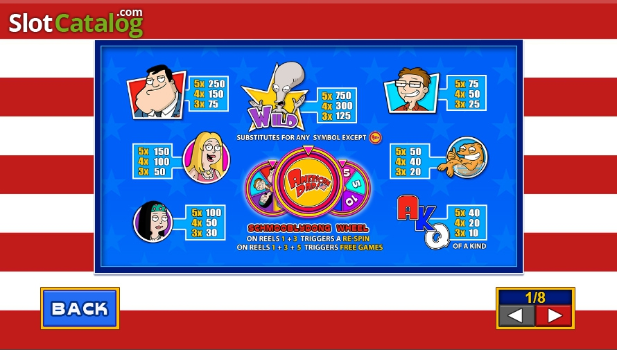 Spiele American Dad Slot - Video Slots Online