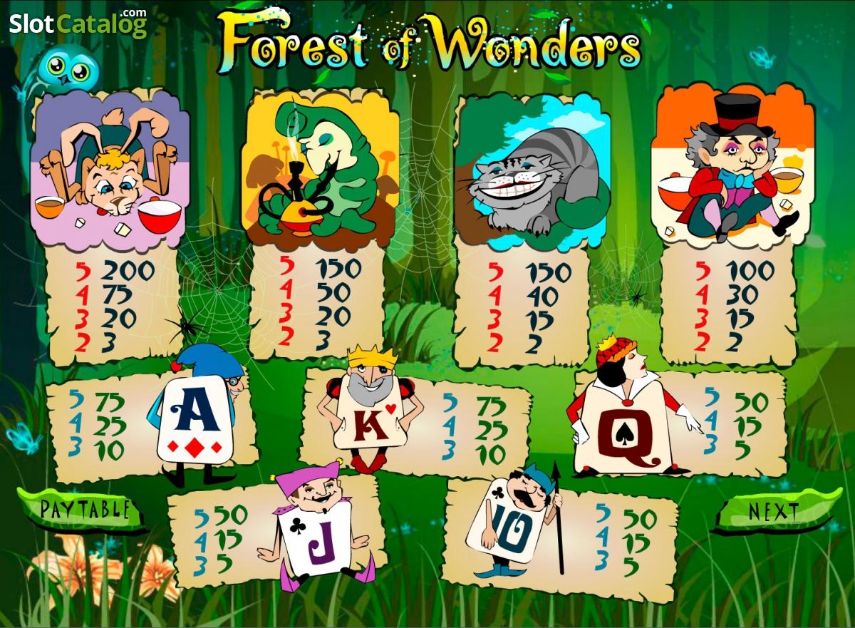 Spiele Forest Of Wonders - Video Slots Online