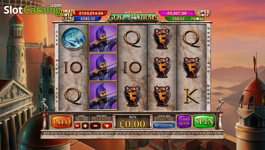 Spiele Age Of The Gods God Of Storms - Video Slots Online
