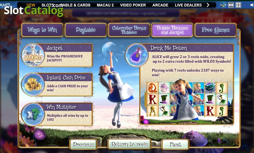 Play Adventures Beyond Wonderland Slots at Casino.com Canada