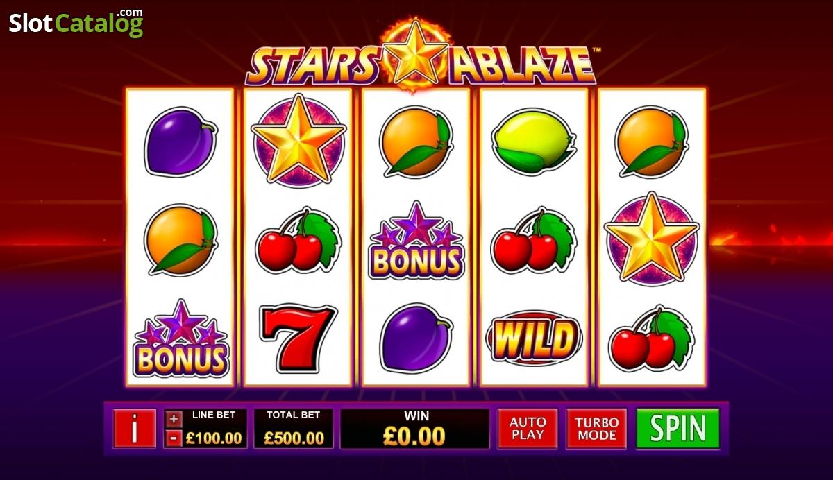 Spiele Stars Ablaze! - Video Slots Online