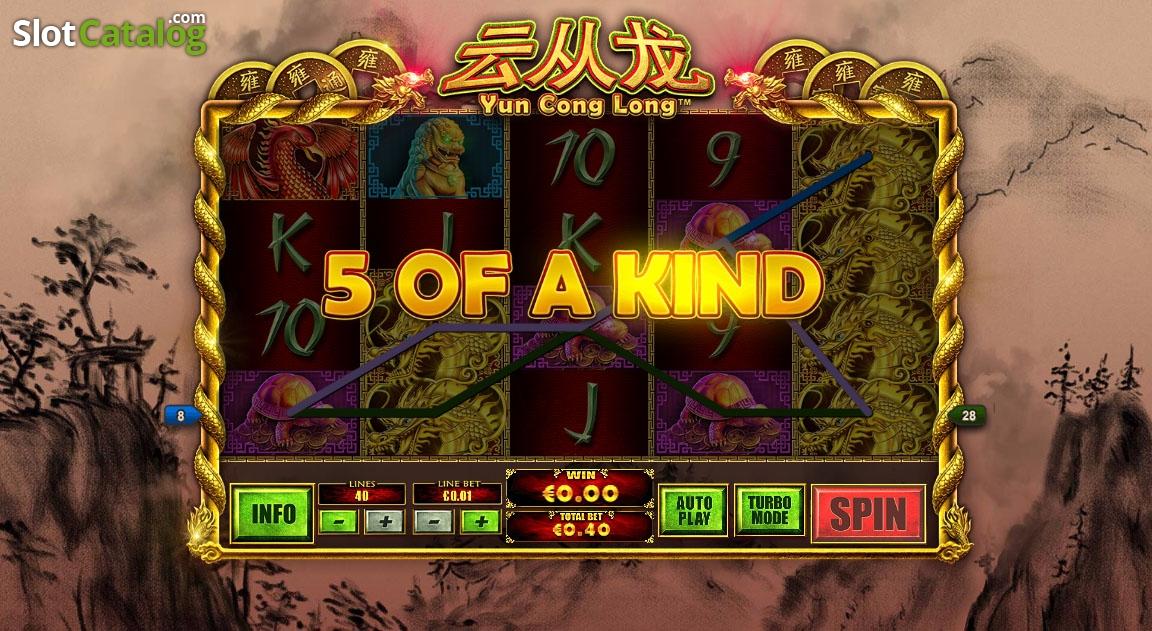 Yun Cong Long Slot Machine