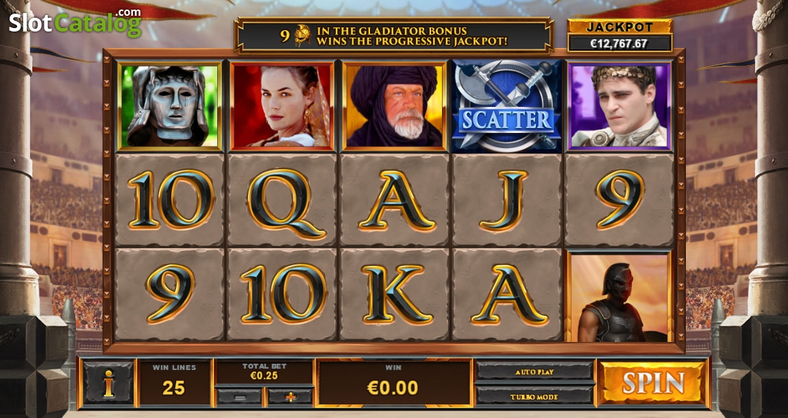 Spiele Gladiator: Road To Rome - Video Slots Online