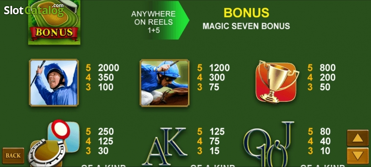 Spiele Frankie DettoriS Magic Seven Jackpot - Video Slots Online
