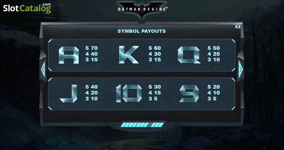 Spiele Batman Begins - Video Slots Online