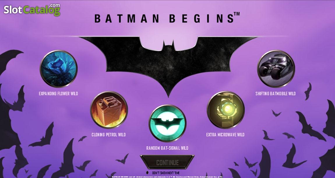 Batman beginsplaytech slotcatalog batman begins playtech voltagebd Image collections