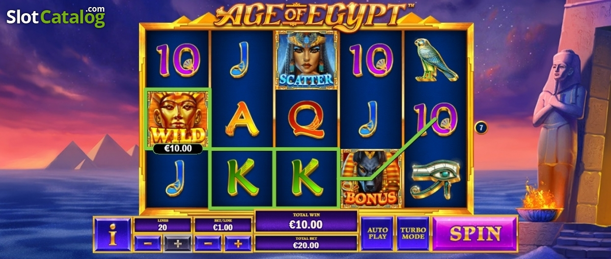 Spiele Age Of Egypt - Video Slots Online