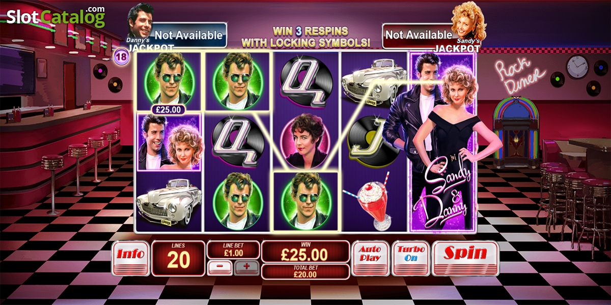 Play grease slot machine online lyrics kenny rogers the gambler