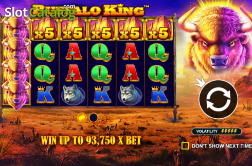 Màn2. Buffalo King (Video Slot từ Pragmatic Play)