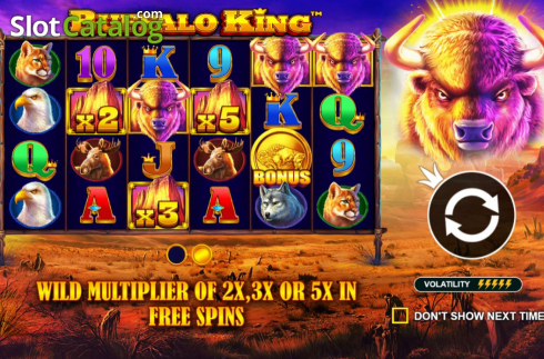 Màn3. Buffalo King (Video Slot từ Pragmatic Play)