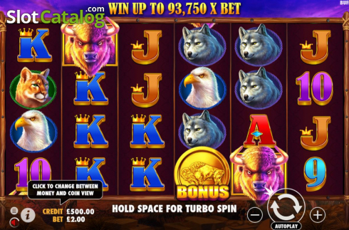 Màn4. Buffalo King (Video Slot từ Pragmatic Play)