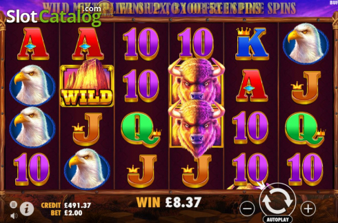 Màn6. Buffalo King (Video Slot từ Pragmatic Play)