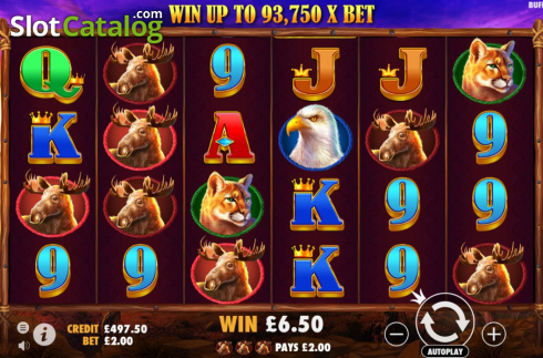 Màn7. Buffalo King (Video Slot từ Pragmatic Play)