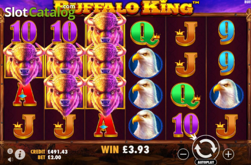 Màn8. Buffalo King (Video Slot từ Pragmatic Play)