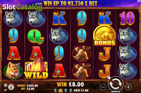 Màn9. Buffalo King (Video Slot từ Pragmatic Play)