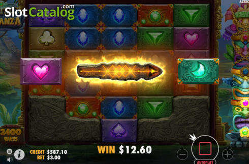 Feature 1. Aztec Bonanza (Video Slots from Pragmatic Play)