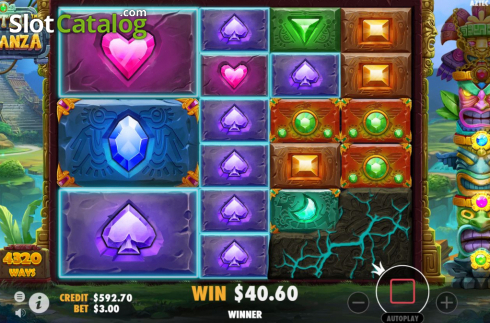 Feature 2. Aztec Bonanza (Video Slots from Pragmatic Play)