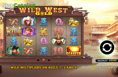 Wild West Gold (Video Slot från Pragmatic Play)