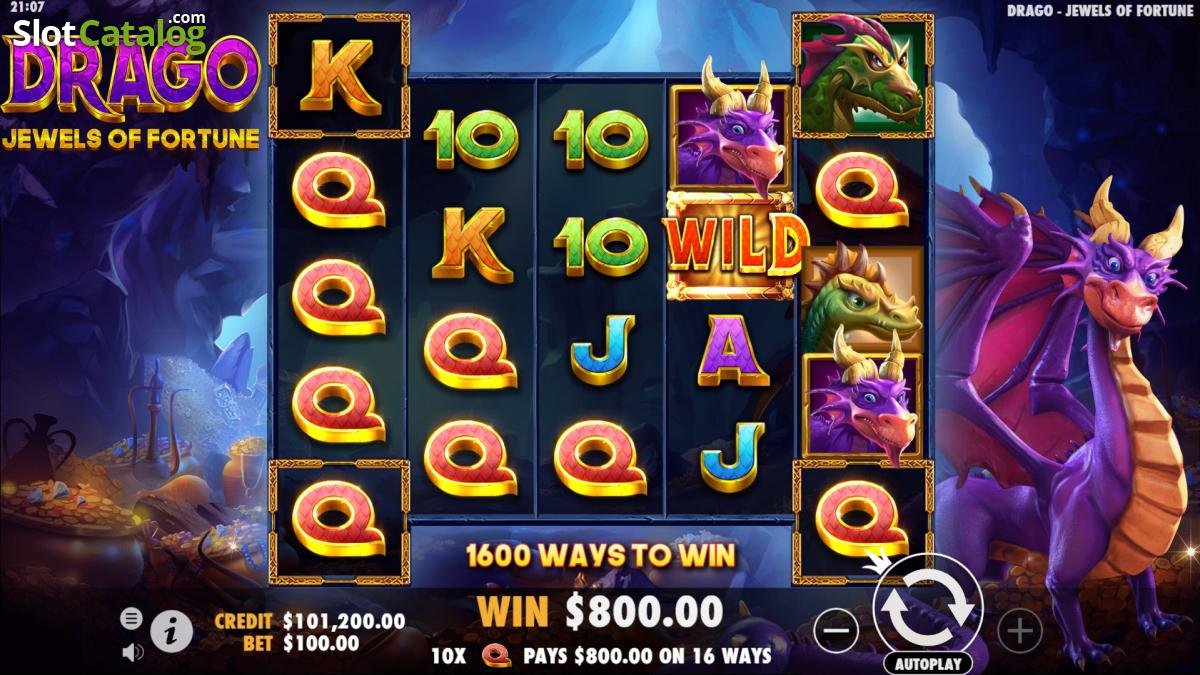 Drago Jewels of Fortune Slot Machine