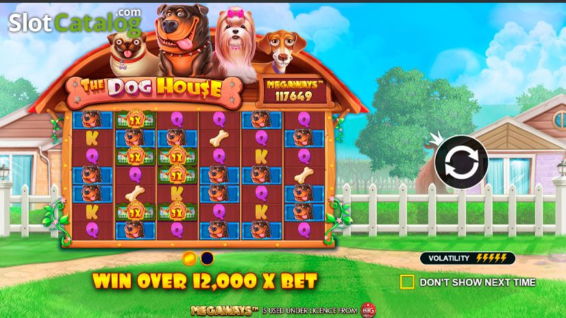 The Dog House Megaways Slot Demo