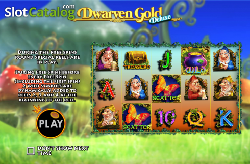 Game features. Dwarven Gold Deluxe (Video Slot from Pragmatic Play)