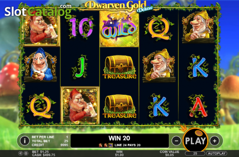 Wild. Dwarven Gold Deluxe (Video Slot from Pragmatic Play)