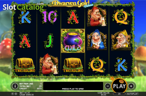 Reels. Dwarven Gold Deluxe (Video Slot from Pragmatic Play)