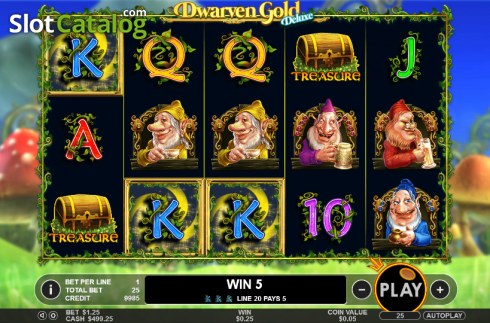 Win. Dwarven Gold Deluxe (Video Slot from Pragmatic Play)