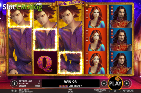 Lady Godiva Slots - Play the xxx Casino Game for Free