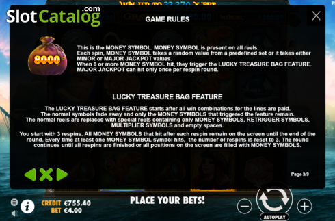 Rules. Pirate Gold (Video Slot from Pragmatic Play)