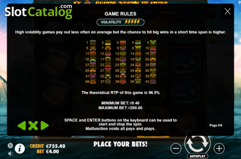 Lines. Pirate Gold (Video Slot from Pragmatic Play)