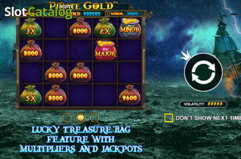 Intro 2. Pirate Gold (Video Slot from Pragmatic Play)