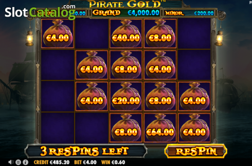 Respin 2. Pirate Gold (Video Slot from Pragmatic Play)