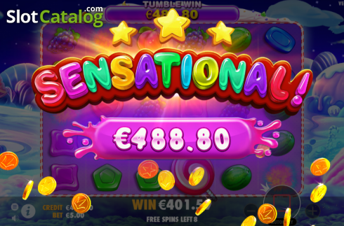 skærm10. Sweet Bonanza (Video Slot fra Pragmatic Play)
