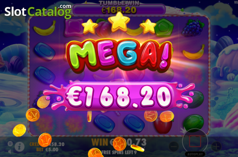 skærm9. Sweet Bonanza (Video Slot fra Pragmatic Play)
