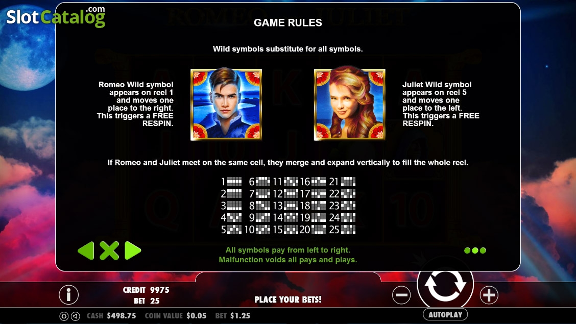 Review Of Romeo And Juliet Video Slot From Pragmatic Play