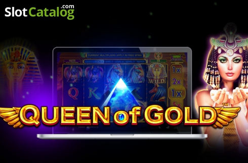 Queen of gold (Video Slot von Pragmatic Play)