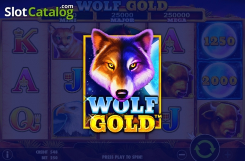 Wolf Gold from Pragmatic Play