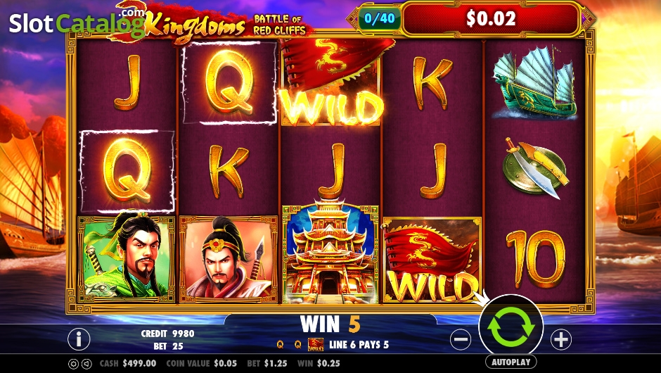 Spiele 3 Kingdoms – Battle Of Red Cliffs - Video Slots Online