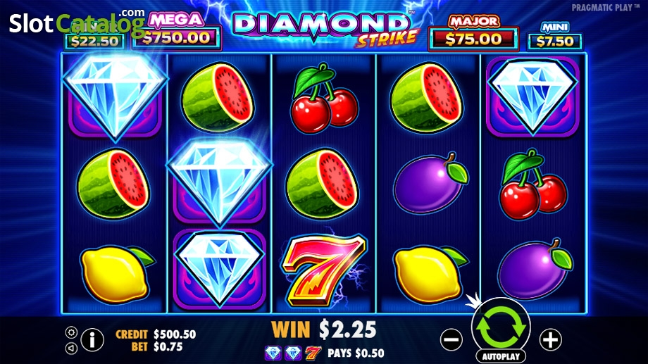 Spiele Diamond Strike - Video Slots Online