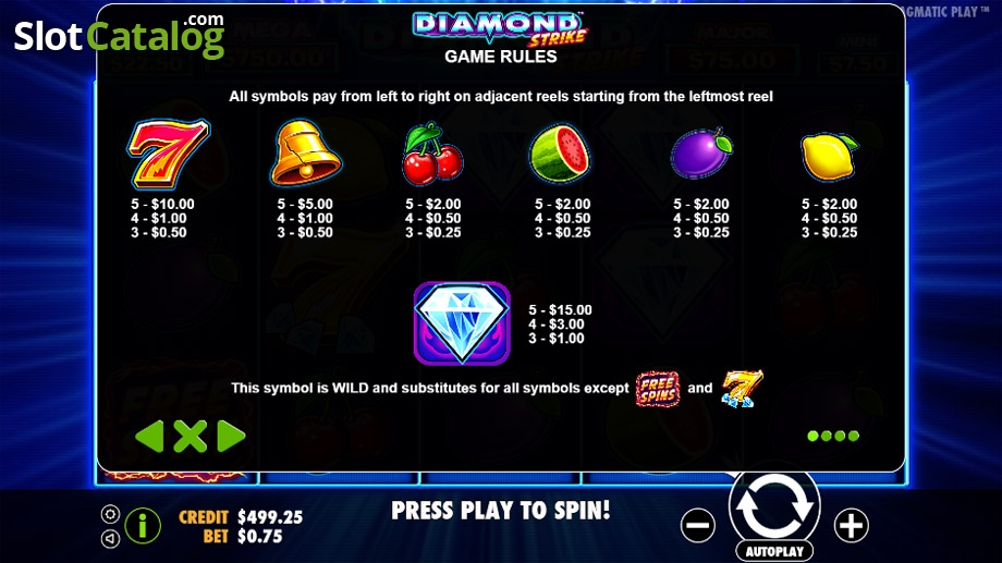 Pragmatic Play To Release New Diamond Strike Slot